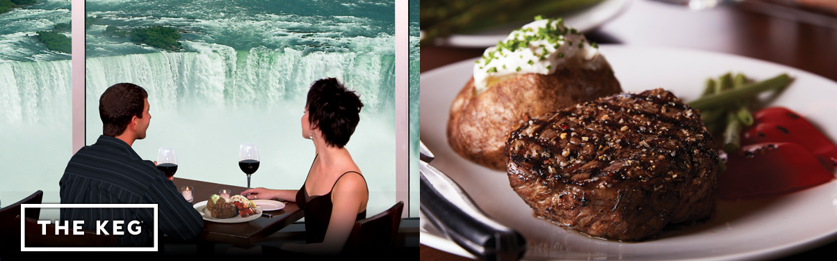 The Keg Steakhouse & Bar - Ramada by Wyndham Niagara Falls Near the Falls