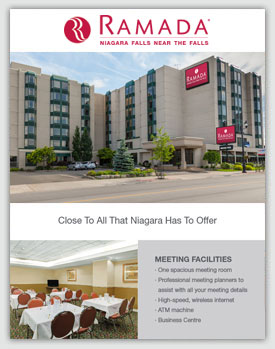 Sales Sheet - Ramada by Wyndham Niagara Falls Near the Falls